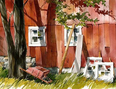 Redside Rest by Art Scholz