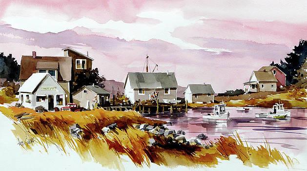Sleepy Harbor by Art Scholz