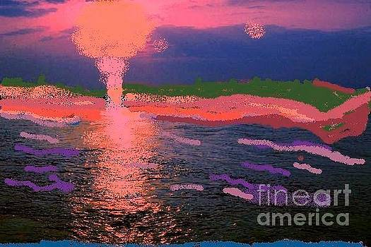 Sun and Water Fusion by Dorothy S Guinn