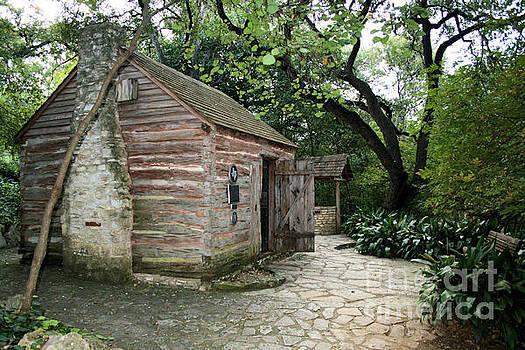 Texas Log Cabin by Kelly Christiansen