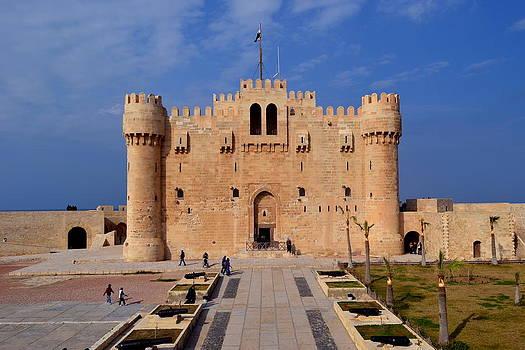 The Citadel of Qaitbay by Adel Esmael