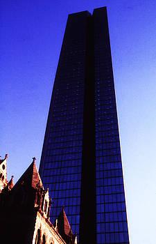 The John Handcock Glass Building in Boston by Thomas D McManus
