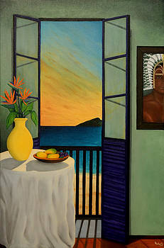 Thursday Island Reflections by Joe Michelli