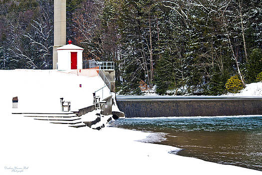 Darlene Bell -  Winter At North Fork Dam