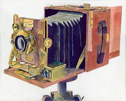 1905 Sanderson Camera by Gary Roderer