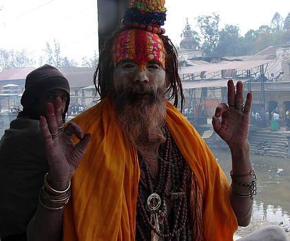 Anand Swaroop Manchiraju - A SAINT FROM NEPAL
