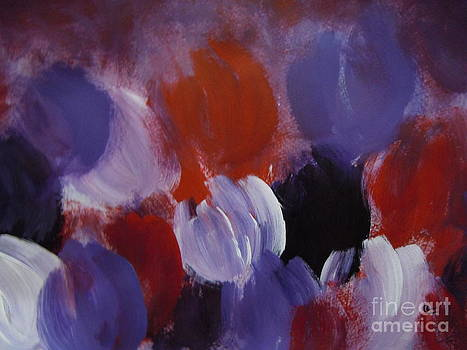 Abstract Flowers by Lam Lam