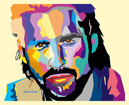 Adrian Paul WPAP style by James Bryson