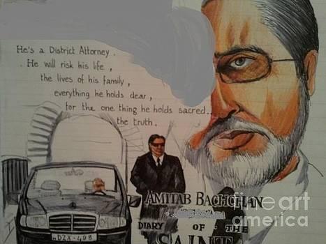 Amitabh Bachchan by Sandeep Kumar Sahota