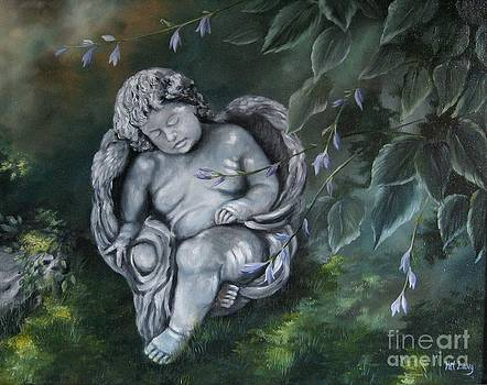 Angel in the Garden by Patricia Lang
