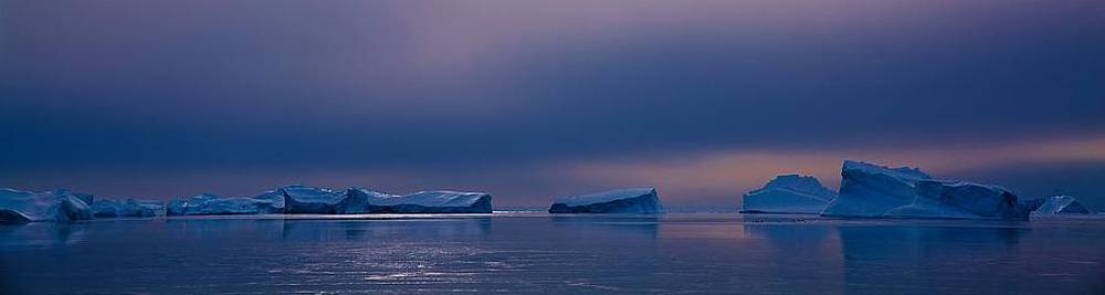 Antarctic Landscape 119 by David Barringhaus