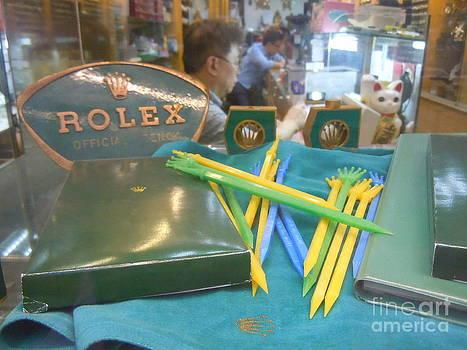 antique shop Rolex vintage tools by Lam Lam