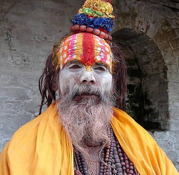 Anand Swaroop Manchiraju - ASH SMEARED SADHU