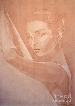 Audrey Hepburn by Scott Shisler