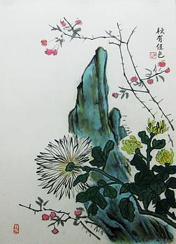 Autumn Chrysanthemum by Jason Zhang