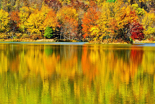 Autumn Lake by Margaretha Brooks