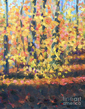 Autumn Woods at Dellwood by Jane  Simonson
