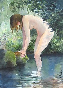 Bather by Richard Yoakam