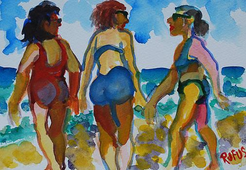 Beach Trio by Rufus Norman