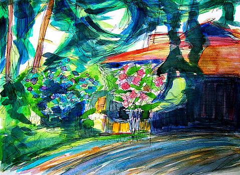 Allen Forrest - Beaux Arts Rhodies Home and Driveway