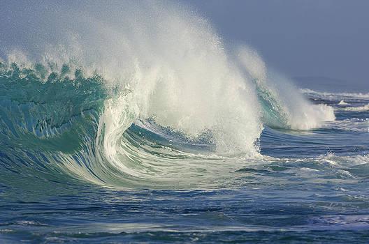 Big Wave, Oahu, Hawaii, Usa by Martin Ruegner