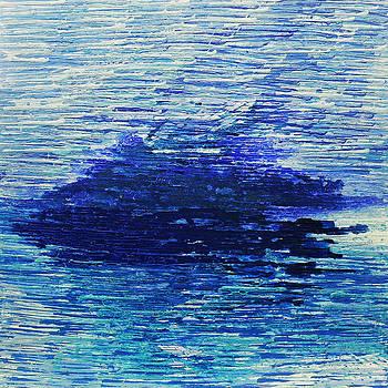 Blue 3 by Rozita Fogelman