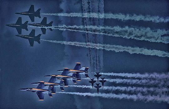Blue Angels by Kelly Reber