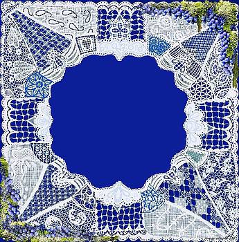Blue Bell Lace Matting by Jenny Elaine