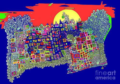 Blue City by Joyce Goldin