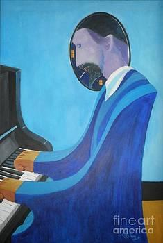 Blue Monk by David G Wilson