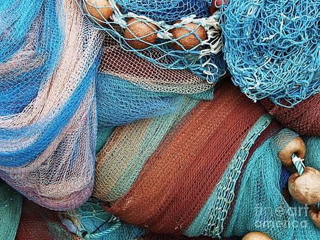 Blue nets by Bernard MICHEL