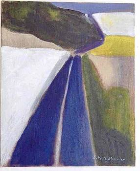 Victoria Sheridan - Blue road