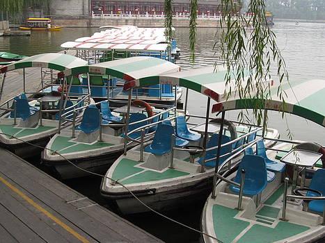 Alfred Ng - boats by the lake