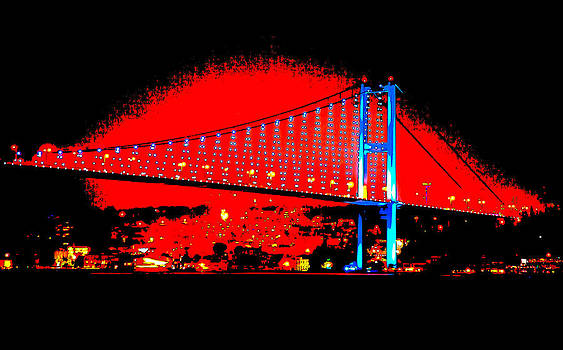 Kantilal Patel - Bogazici Kpr Bridge after dark