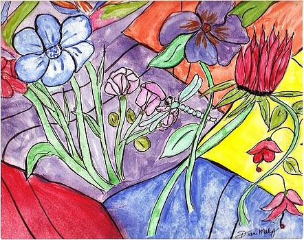 Bold Flowers by Diane Maley