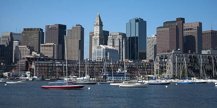 Boston by Peggie Strachan