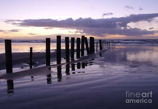 Brean Beach Sunset by Urban Shooters