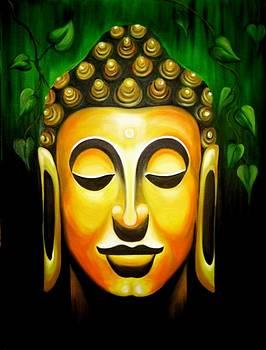 Buddha by Xafira Mendonsa