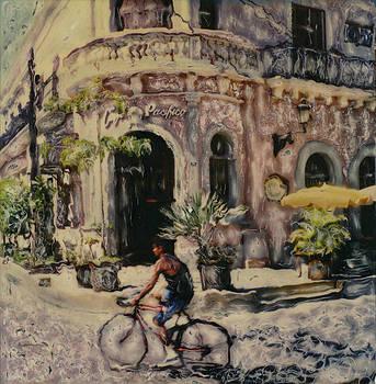 Cafe Pacifico  Mazatlan by Rod Huling