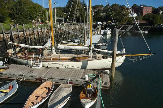 Robert Anschutz - Camden Harbor