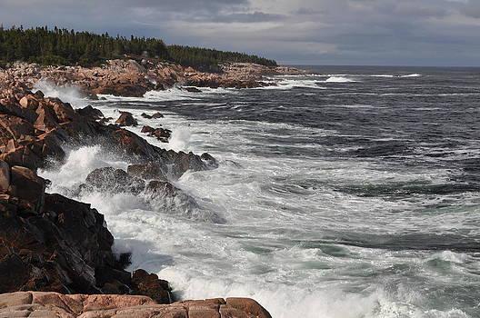 Cape Breton Crashing Waves by Jeff Moose
