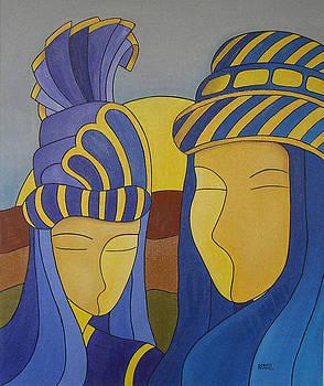 Carnaval Bleu by Sonia BOYER