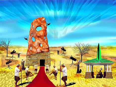 Celebratory Minions of the Absurd by AW Sprague II