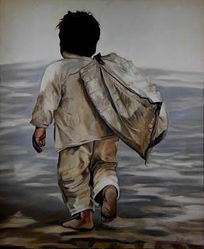 Child Begger by Romi Soni