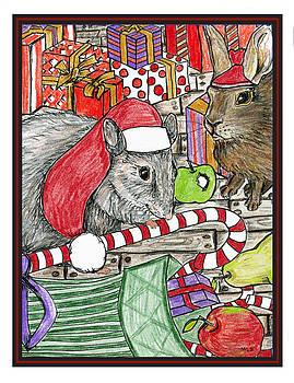 Christmas treats by Marla Saville