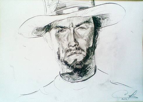 Clint Eastwood by Vaidos Mihai
