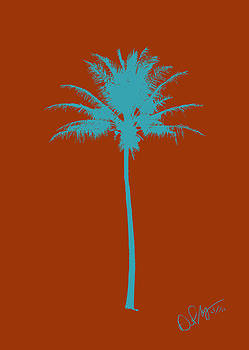 Color Palm 7 by David Paul Murray