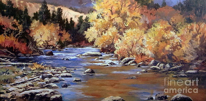 Creekside by W  Scott Fenton
