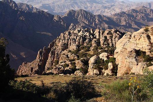 Dana Mountains by Adeeb Atwan