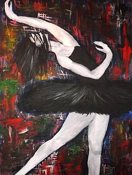 Dark Swan by Annamaria Shkurti